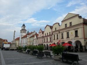 European plaza
